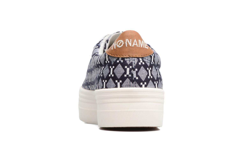 Baskets No Name Plato Sneaker Atari Bleu vue droite