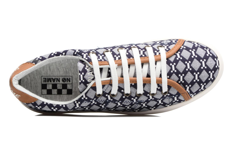 Baskets No Name Plato Sneaker Atari Bleu vue gauche
