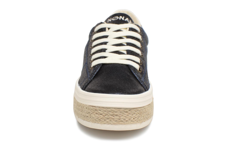 Baskets No Name Malibu Sneaker Bleu vue portées chaussures