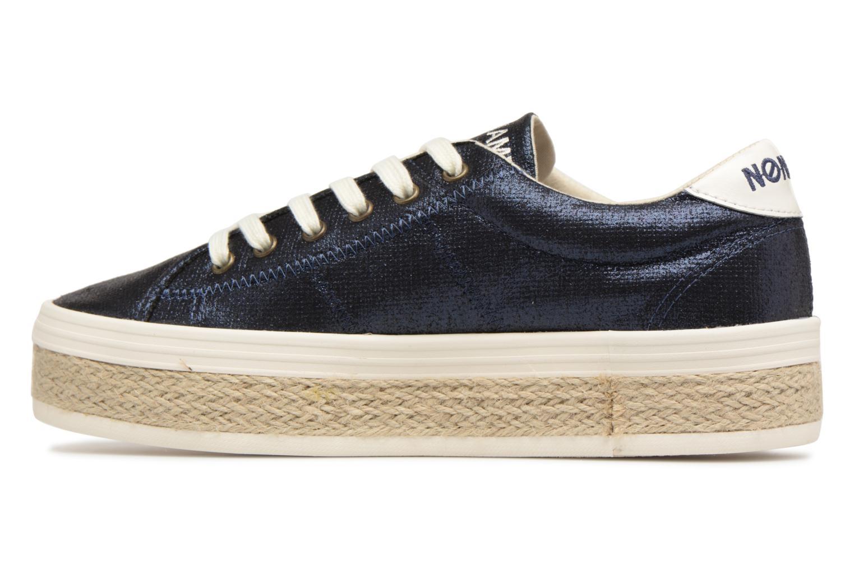 Baskets No Name Malibu Sneaker Bleu vue face