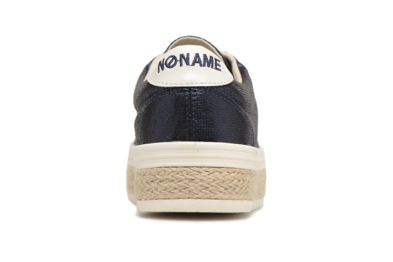 Baskets No Name Malibu Sneaker Bleu vue droite