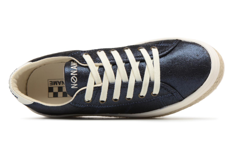 Baskets No Name Malibu Sneaker Bleu vue gauche