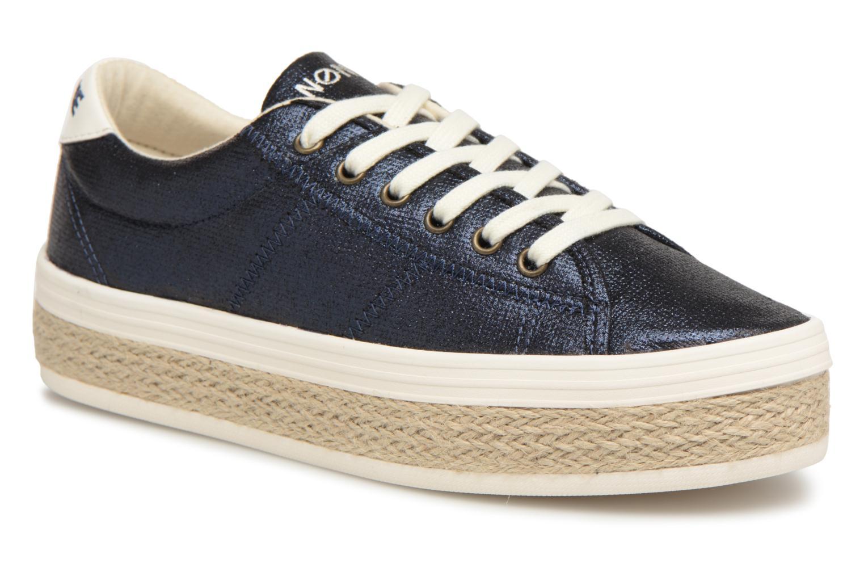 Baskets No Name Malibu Sneaker Bleu vue détail/paire