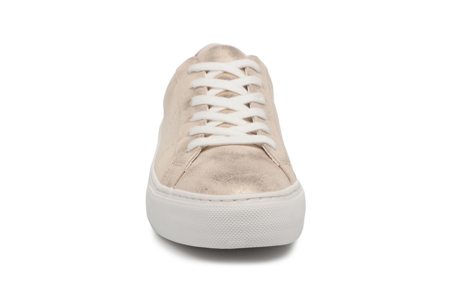 Baskets No Name Arcade Sneaker Glow Beige vue portées chaussures