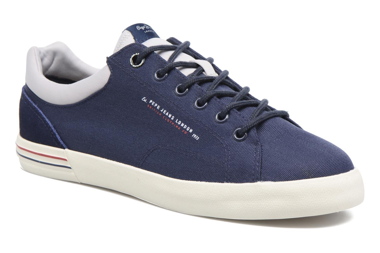 Baskets Pepe jeans North Nylon Bleu vue détail/paire