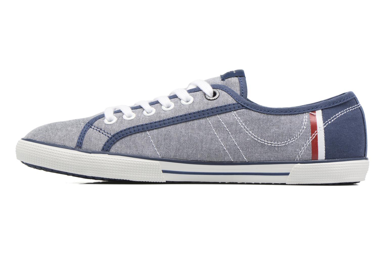 Sneakers Pepe jeans Aberman Court Blauw voorkant