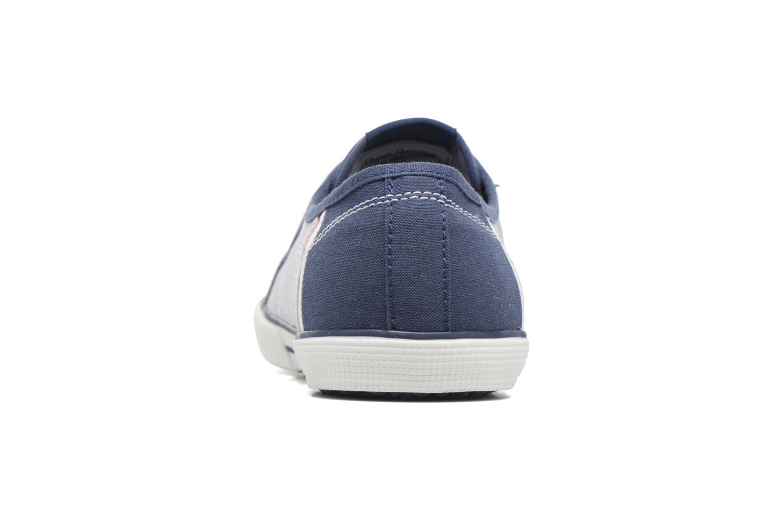 Baskets Pepe jeans Aberman Court Bleu vue droite