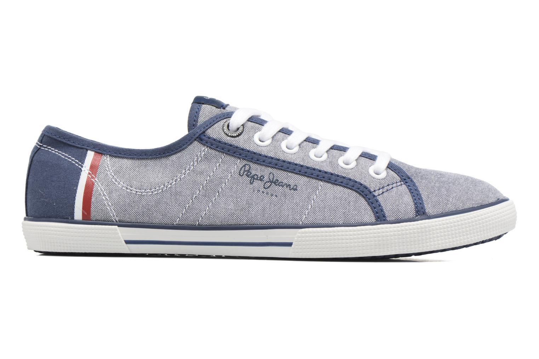 Baskets Pepe jeans Aberman Court Bleu vue derrière