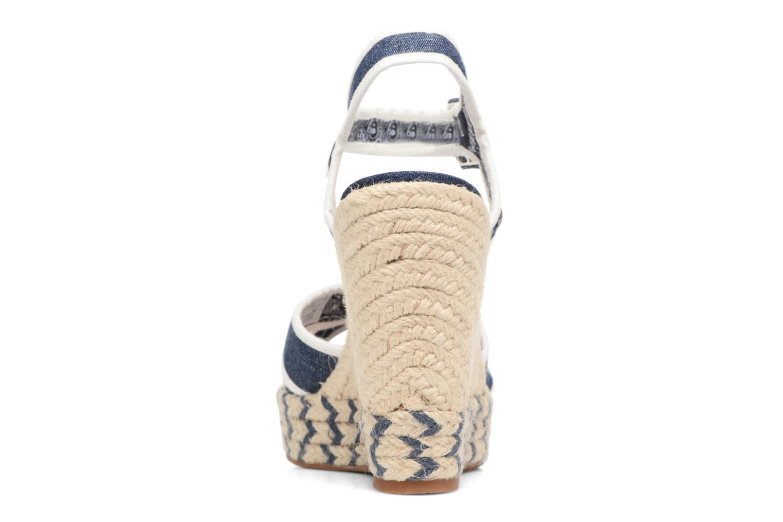 Sandalias Pepe jeans Walker Denim S17 Azul vista lateral derecha