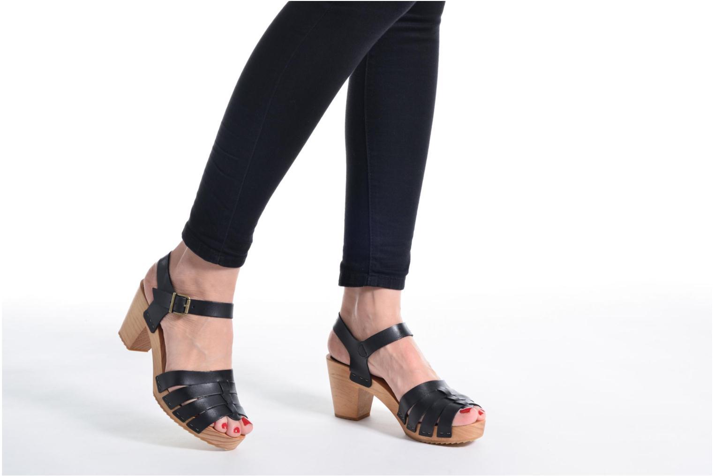 Sandales et nu-pieds Pepe jeans Oly Noir vue bas / vue portée sac