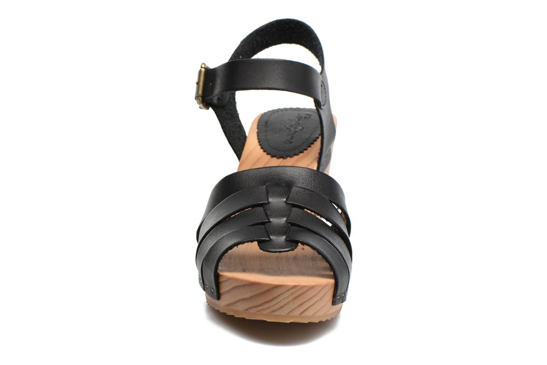 Sandales et nu-pieds Pepe jeans Oly Noir vue portées chaussures