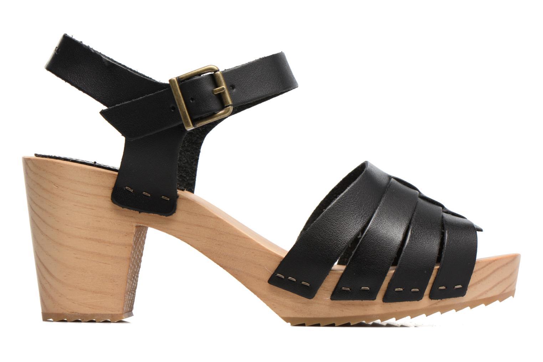 Sandales et nu-pieds Pepe jeans Oly Noir vue derrière