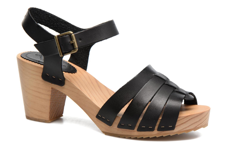 Sandales et nu-pieds Pepe jeans Oly Noir vue détail/paire