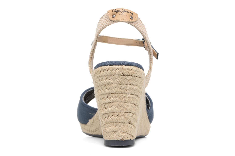 Sandales et nu-pieds Pepe jeans Shark Basic Bleu vue droite