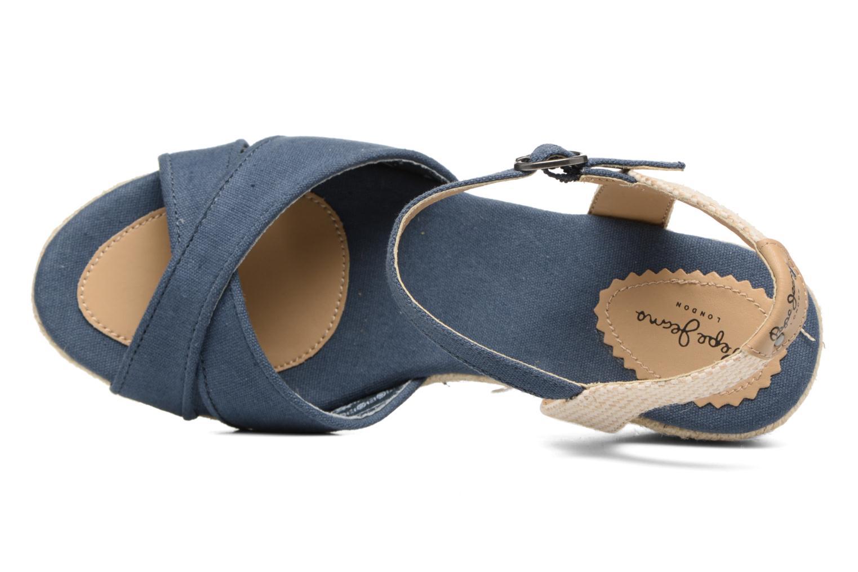 Sandales et nu-pieds Pepe jeans Shark Basic Bleu vue gauche