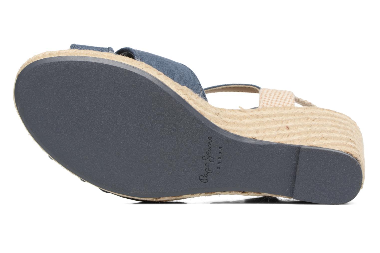 Sandales et nu-pieds Pepe jeans Shark Basic Bleu vue haut