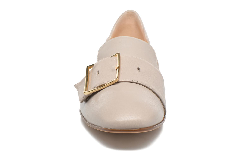Mocassins HÖGL Dorota Gris vue portées chaussures