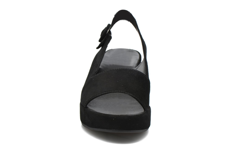 Sandales et nu-pieds HÖGL Janina Noir vue portées chaussures
