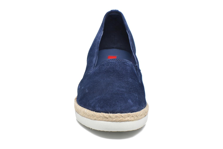 Espadrilles HÖGL Roza Bleu vue portées chaussures