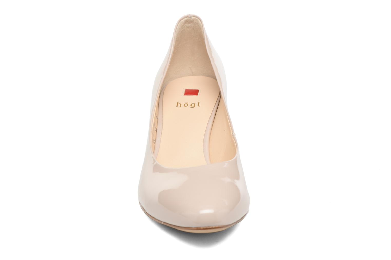 Escarpins HÖGL Tela Beige vue portées chaussures
