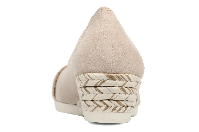 Ballerines Jana shoes Sofia Beige vue droite