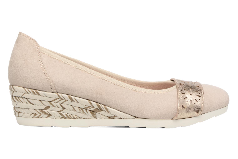 Ballerines Jana shoes Sofia Beige vue derrière