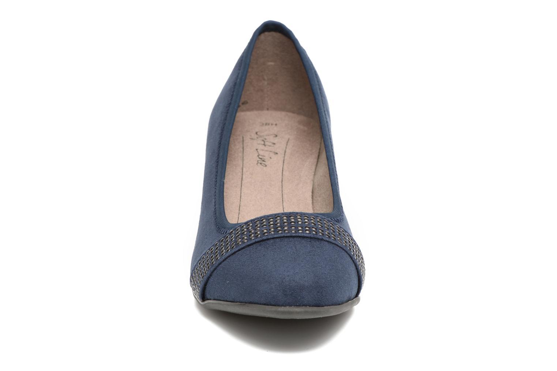 Escarpins Jana shoes Carla 2 Bleu vue portées chaussures