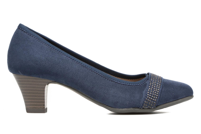 Escarpins Jana shoes Carla 2 Bleu vue derrière