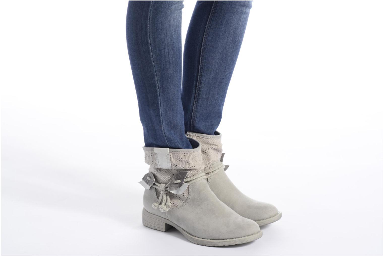 Bottines et boots Jana shoes Karen Beige vue bas / vue portée sac