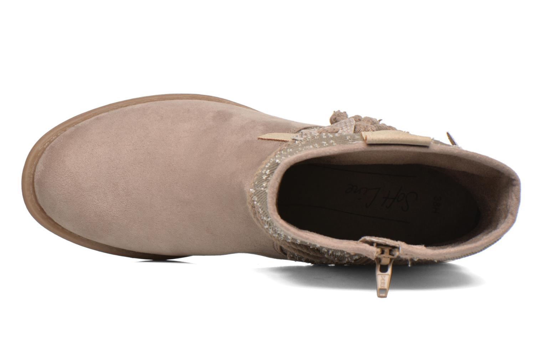 Bottines et boots Jana shoes Karen Beige vue gauche