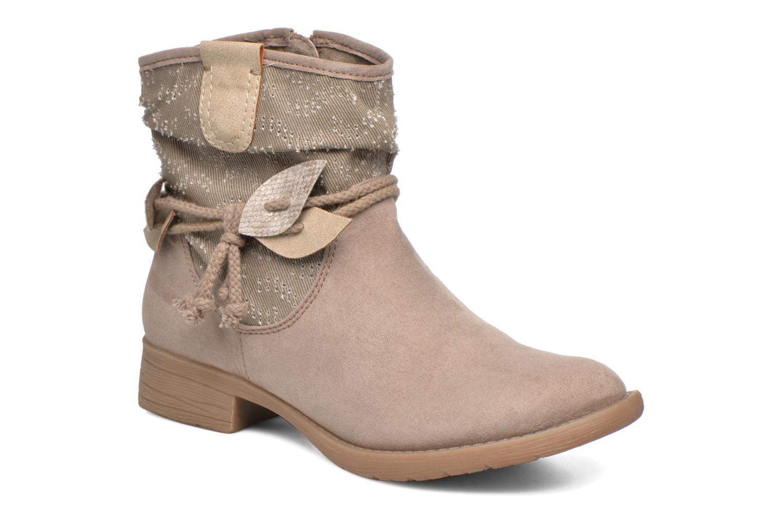 Bottines et boots Jana shoes Karen Beige vue détail/paire