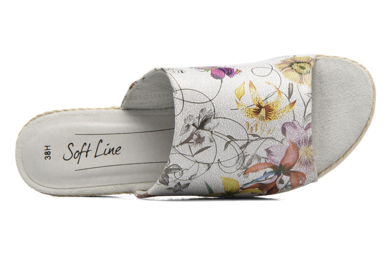 Wedges Jana shoes Aylin Wit links