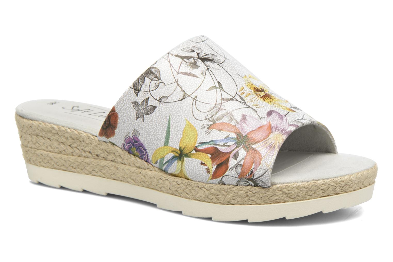 Wedges Jana shoes Aylin Wit detail