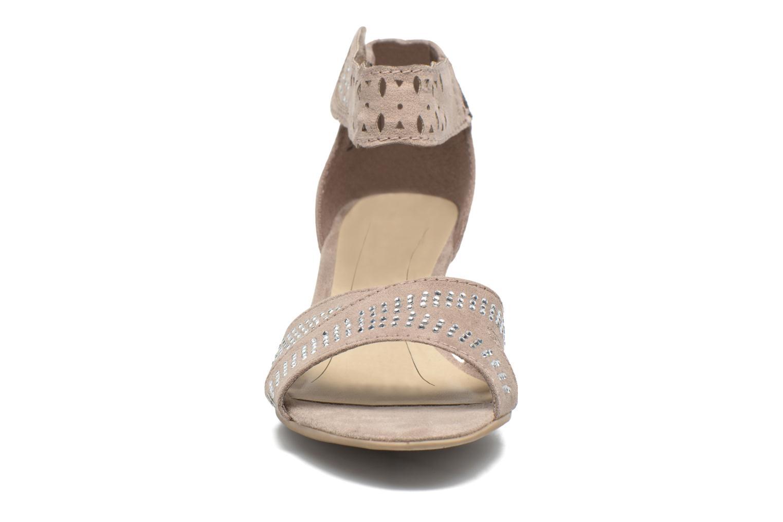 Sandales et nu-pieds Jana shoes Koni Beige vue portées chaussures