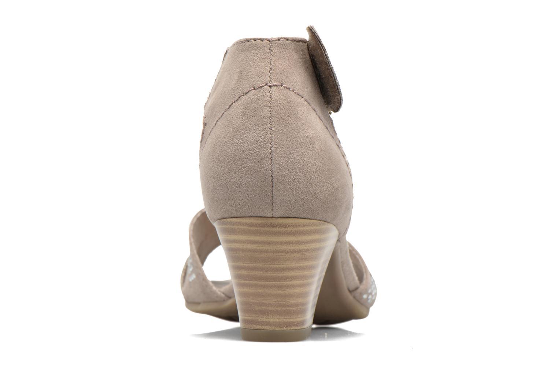 Sandales et nu-pieds Jana shoes Koni Beige vue droite