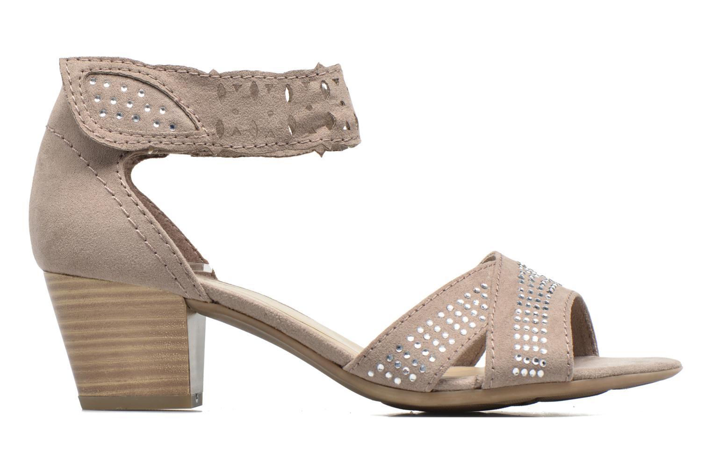 Sandales et nu-pieds Jana shoes Koni Beige vue derrière