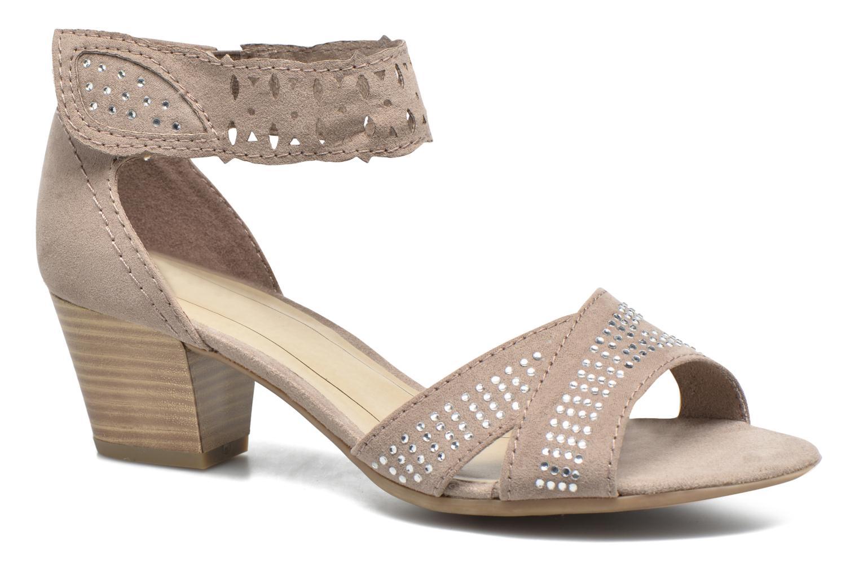 Sandales et nu-pieds Jana shoes Koni Beige vue détail/paire
