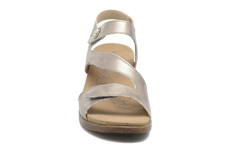 Sandales et nu-pieds Romika Nevis 07 Argent vue portées chaussures