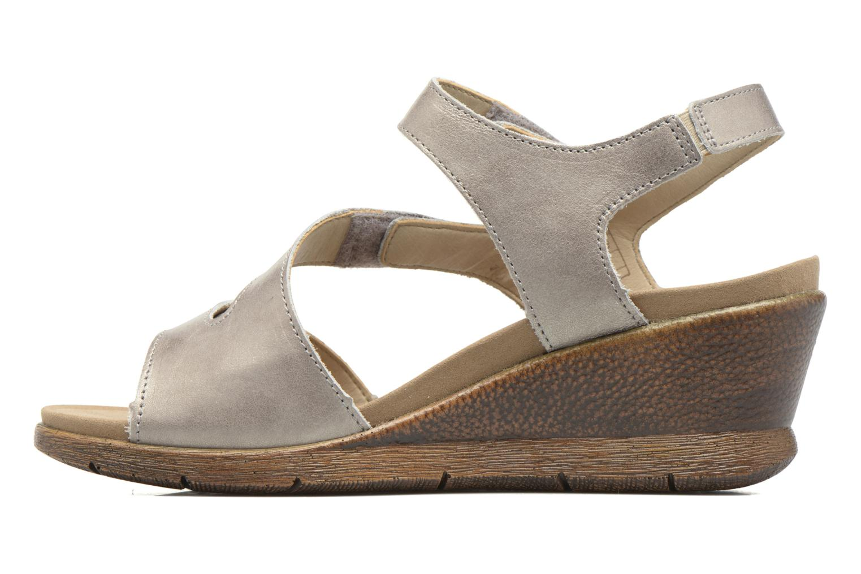 Sandales et nu-pieds Romika Nevis 07 Argent vue face