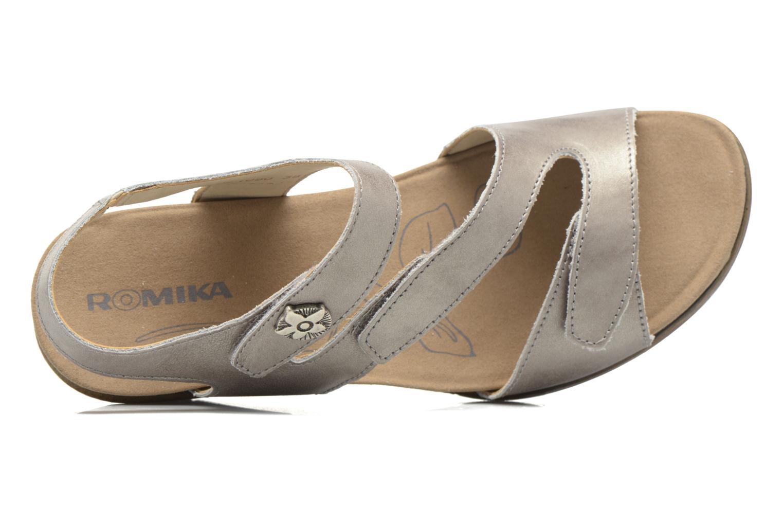 Sandales et nu-pieds Romika Nevis 07 Argent vue gauche