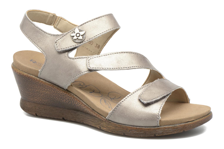 Sandales et nu-pieds Romika Nevis 07 Argent vue détail/paire