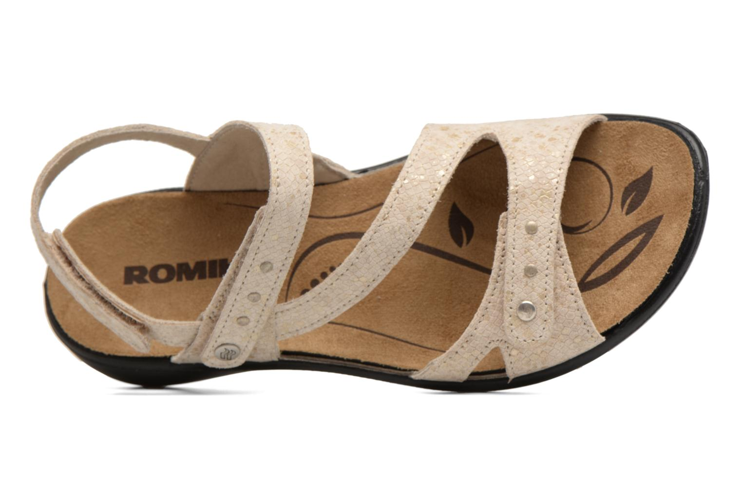 Sandals Romika Ibiza 70 Beige view from the left