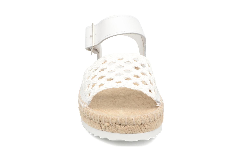 Espadrilles Elizabeth Stuart Nizza 910 Blanc vue portées chaussures