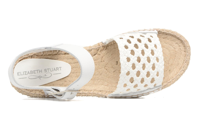 Espadrilles Elizabeth Stuart Nizza 910 Blanc vue gauche