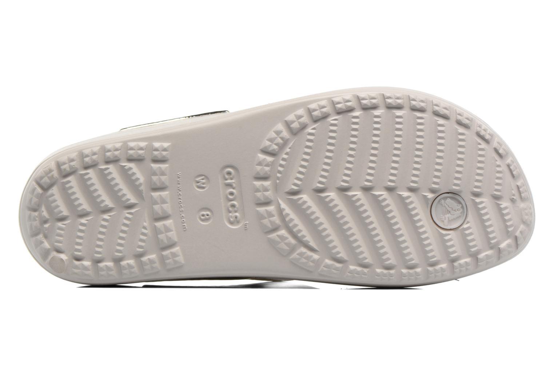 Tongs Crocs Crocs Sloane Embellished Flip Argent vue haut