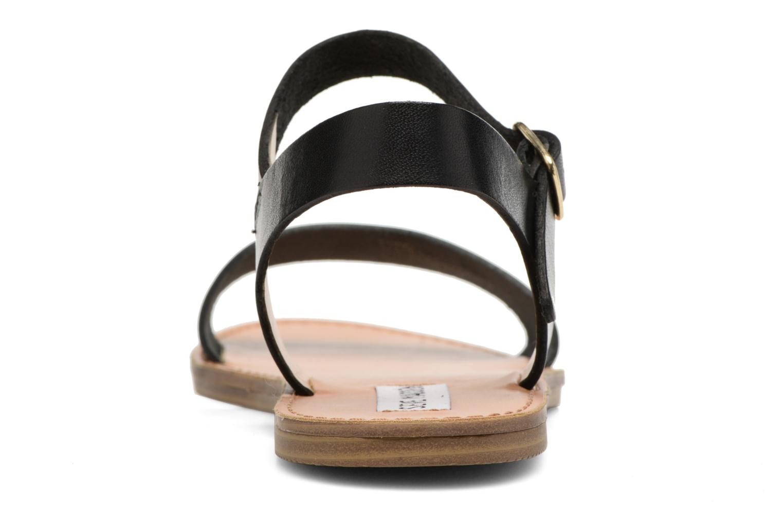 Kondi Sandal 01001 Black Leather