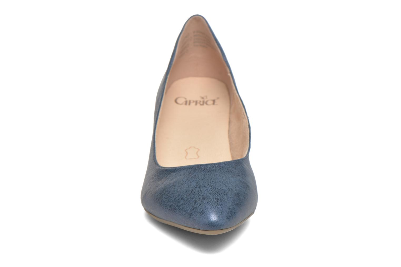 Escarpins Caprice Eva Bleu vue portées chaussures