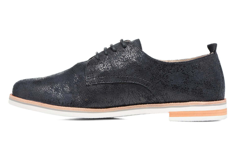 Chaussures à lacets Caprice Ita Noir vue face