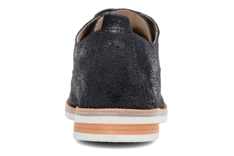 Chaussures à lacets Caprice Ita Noir vue droite
