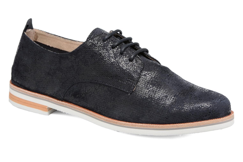 Chaussures à lacets Caprice Ita Noir vue détail/paire